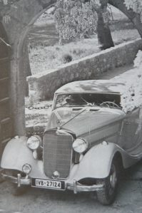 Mercedes 320 Cabriolet A aus dem Jahr 1937